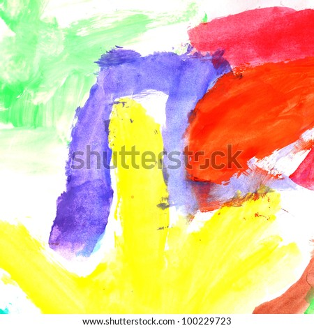 Water Color for background - stock photo