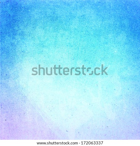 Water color on recycle blue paper texture background. Abstract Designed  detailed grunge paper textured background. High resolution recycled  cardstock. - stock photo