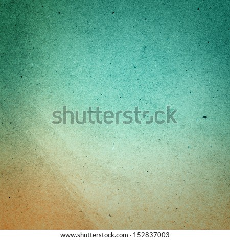 Water color on recycle green and yellow vintage paper texture background. - stock photo