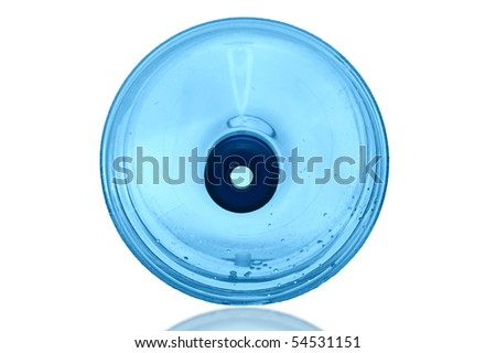 Water Cooler on a white background with  clipping path - stock photo