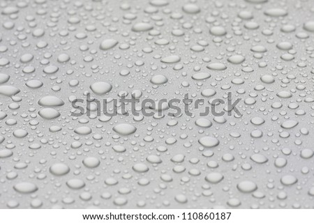 water droplets background.close up of water drops - stock photo