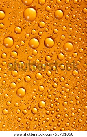 water-drops background - stock photo