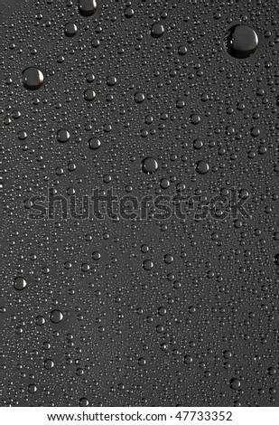 Water drops on the glass. Nature collection. - stock photo