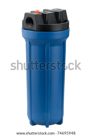 Water filter for clean drinking water - stock photo