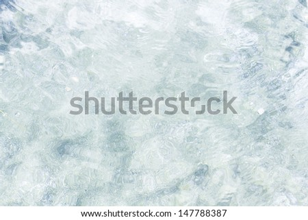Water for background - stock photo
