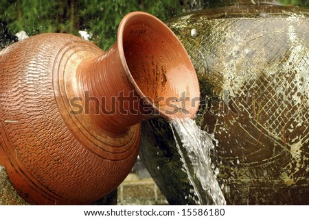Water Fountain - stock photo