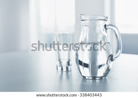 Water. Health And Diet Concept. Drinks. Woman's Hand Holding Glass Of Pure Water. Healthy Eating, Lifestyle. Healthcare And Beauty.  - stock photo