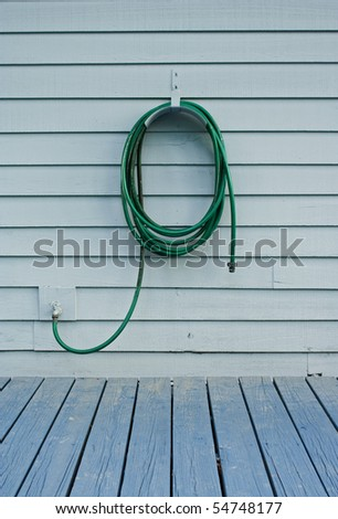 Water hose - stock photo