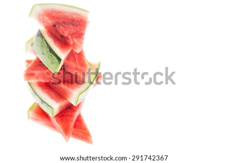 water melons - stock photo