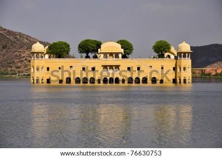 Water palace, Jaipur - stock photo