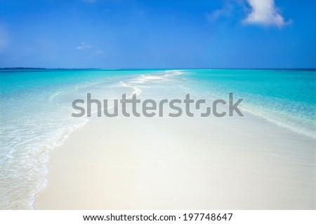 Water Pathway - stock photo