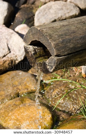 water pipe, Japan - stock photo