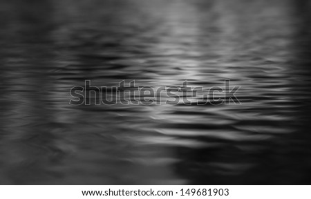 water reflection texture background - stock photo