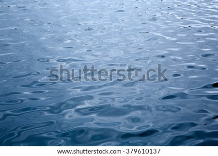 Water Surface Ripples - stock photo