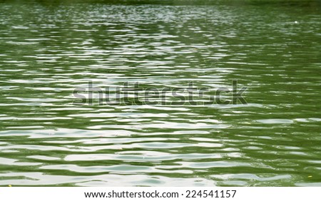 water surface wave - stock photo