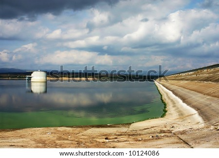 water tank - stock photo