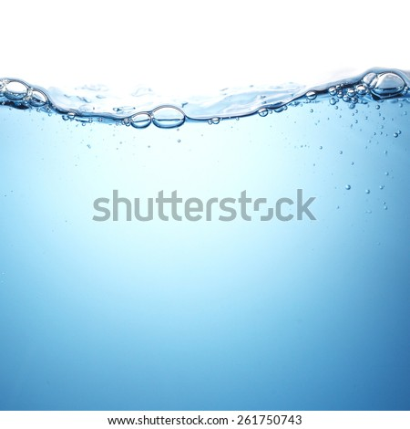 water wave. - stock photo