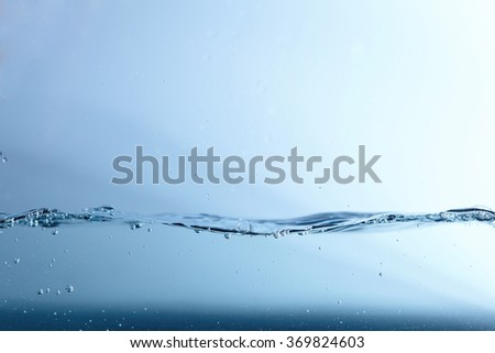 water wave - stock photo