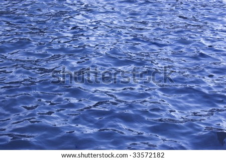 Water Waves Effects - stock photo