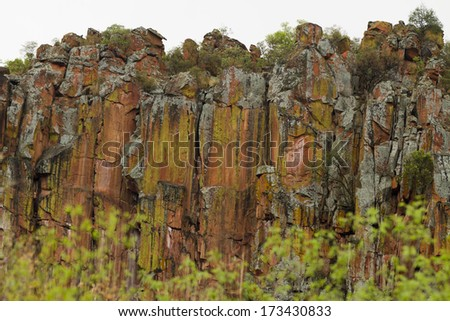 Waterberg Plateau - Namibia - stock photo