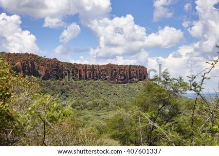 Waterberg Plateau National Park, Kalahari, Otjiwarongo, Namibia, Africa. - stock photo