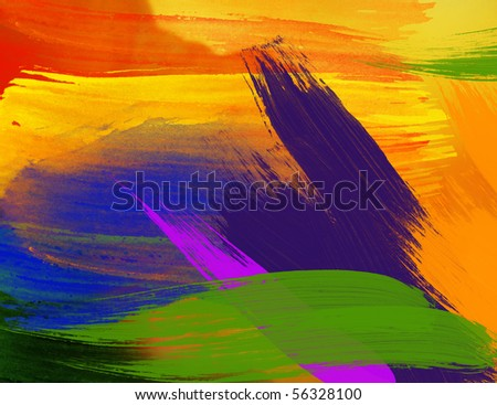 WATERCOLOR - stock photo