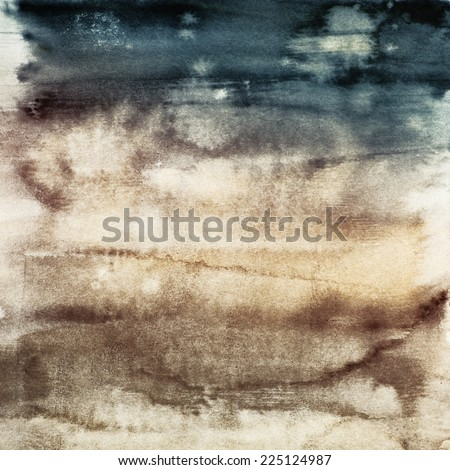 watercolor blended textures, pastel hues, gradients - stock photo