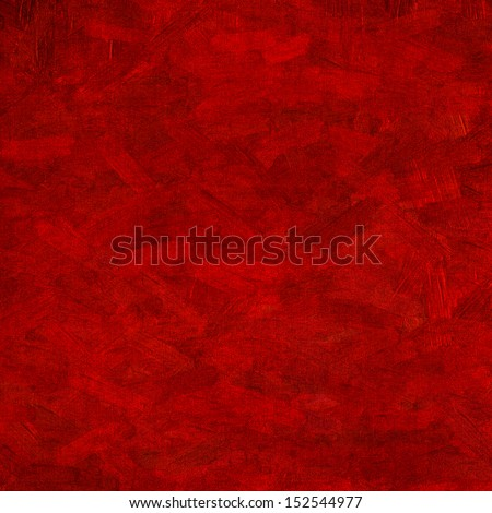 Watercolor, grunge background texture in red - stock photo