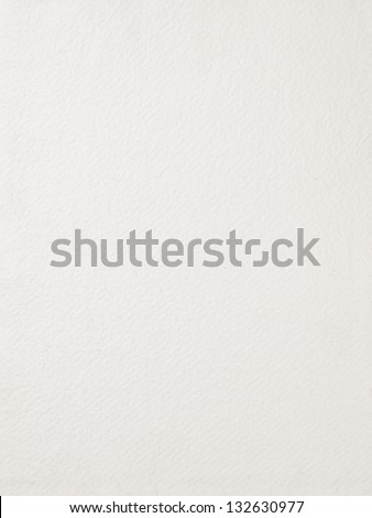 Watercolor paper background texture - stock photo