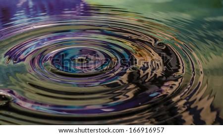 Waterdrop - stock photo