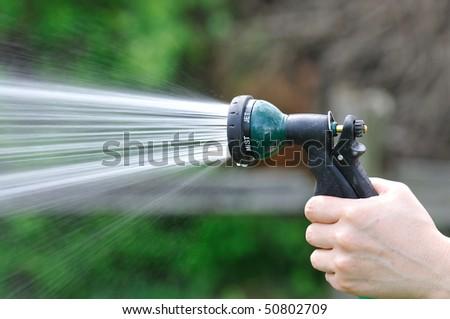 watering - stock photo
