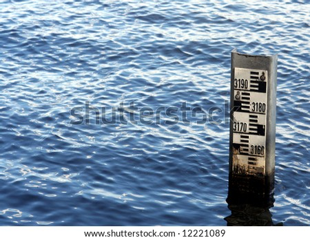 waterlevel - stock photo
