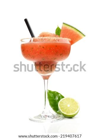 Watermelon Margarita   - stock photo
