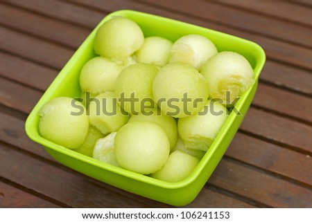 Watermelon pieces - stock photo