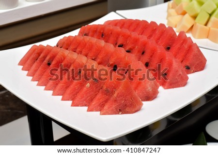 Watermelon Slice  - stock photo