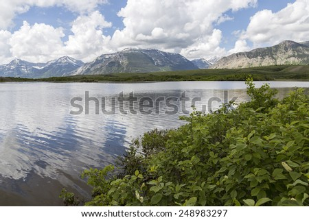 Waterton Lakes National Park - stock photo