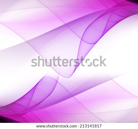 Wave Abstract soft purple background - stock photo