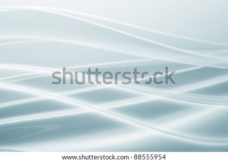 Wave of cellophane - stock photo