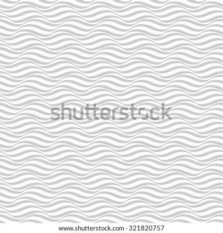 Wave pattern, seamless - stock photo