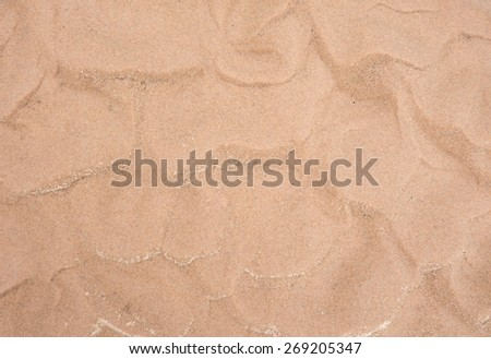 wave sand background With dunes texture - stock photo