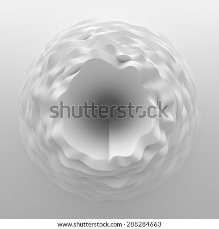 Wave spiral backgrounds - stock photo