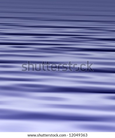 Wave style background with a gentle ripple - stock photo