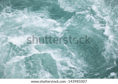 wave,white water texture for background - stock photo