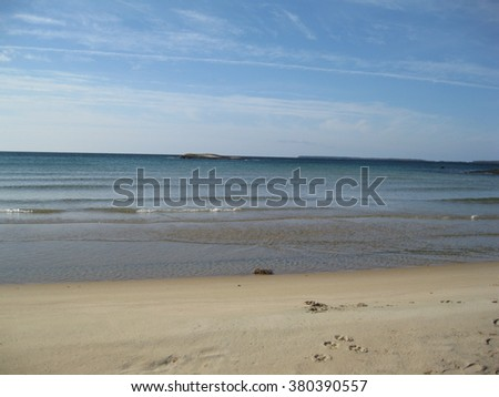Waves on the ocean  - stock photo