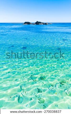 Waves Wallpaper Ocean  - stock photo