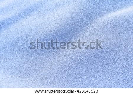 wavy snow texture background texture - stock photo