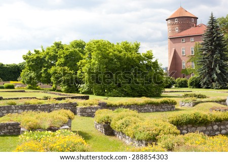 Wawel. Krakow, Poland - stock photo