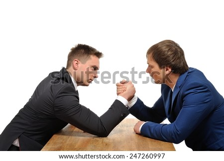 We are in a competitive business. - stock photo