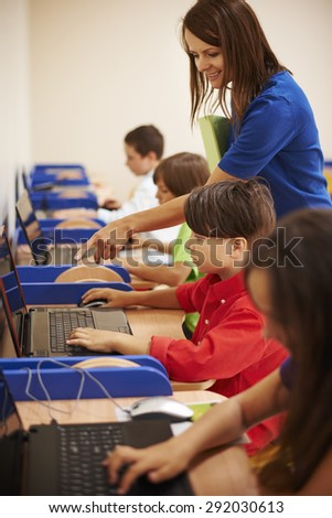 We can ask our teacher whenever we want - stock photo