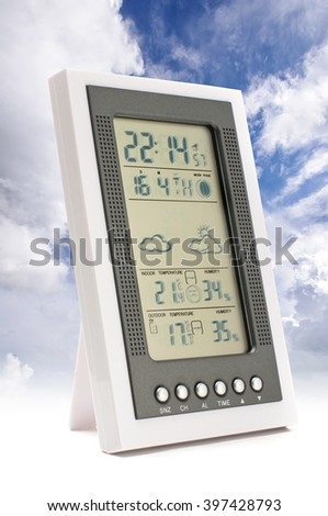 Weather forecast concept - stock photo